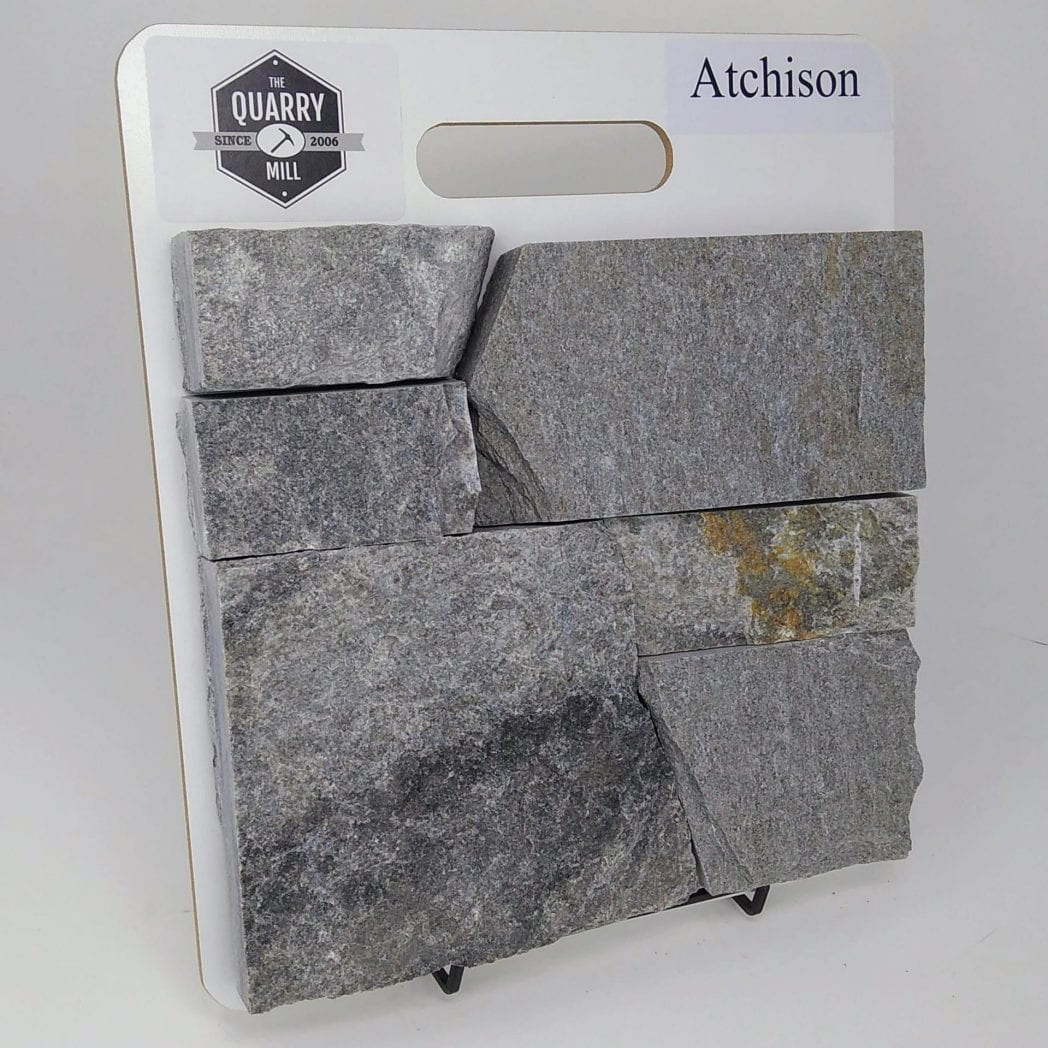 Atchison Natural Stone Veneer Sample Board