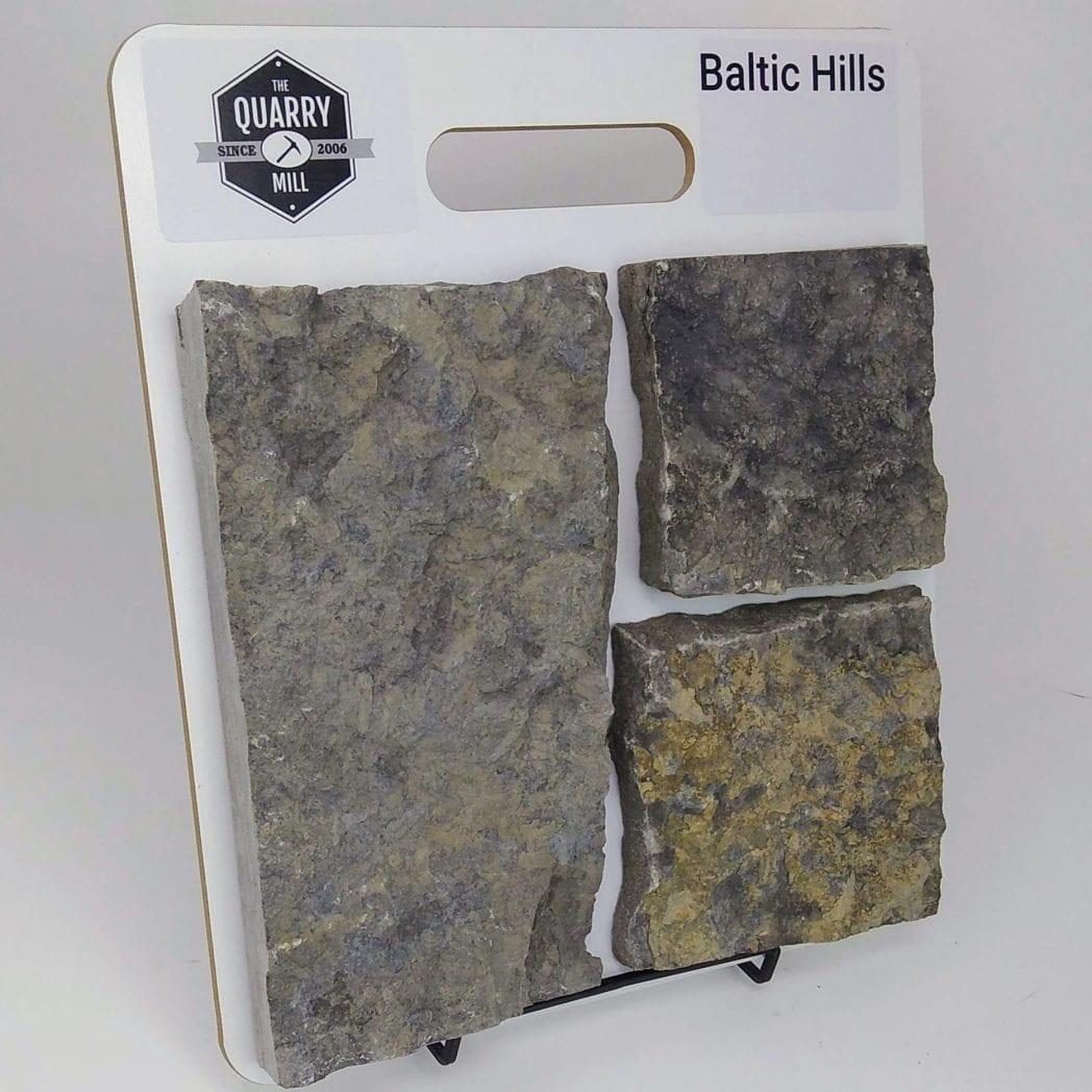 Baltic Hills Natural Stone Veneer Sample Board