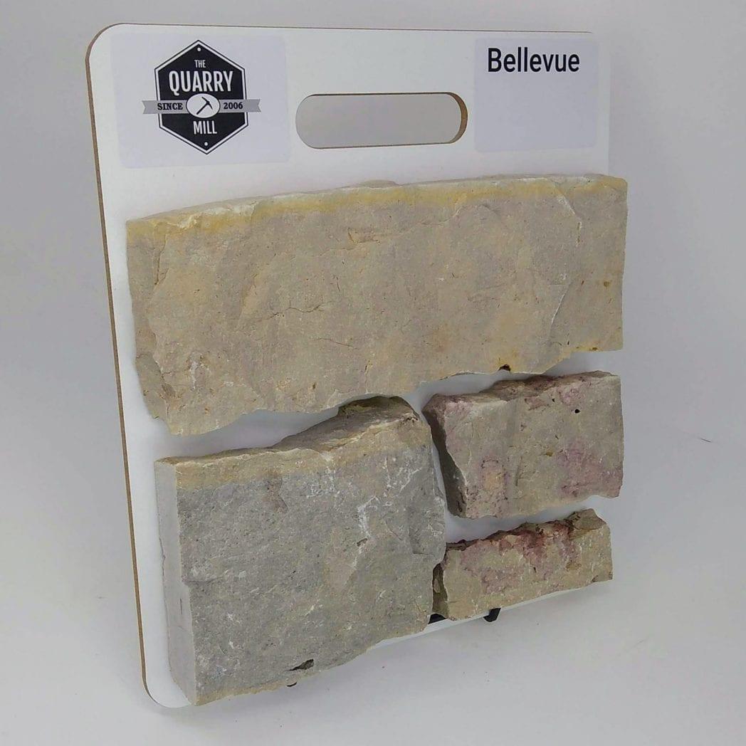 Bellevue Natural Stone Veneer Sample Board
