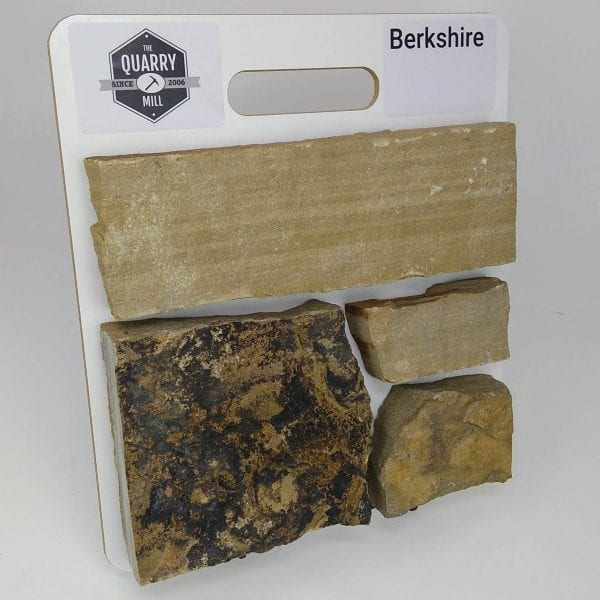 Berkshire Natural Stone Veneer Sample Board
