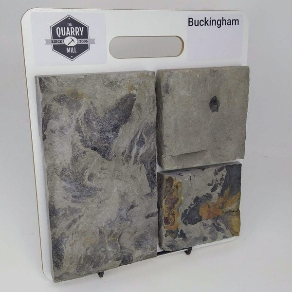 Buckingham Natural Stone Veneer Sample Board