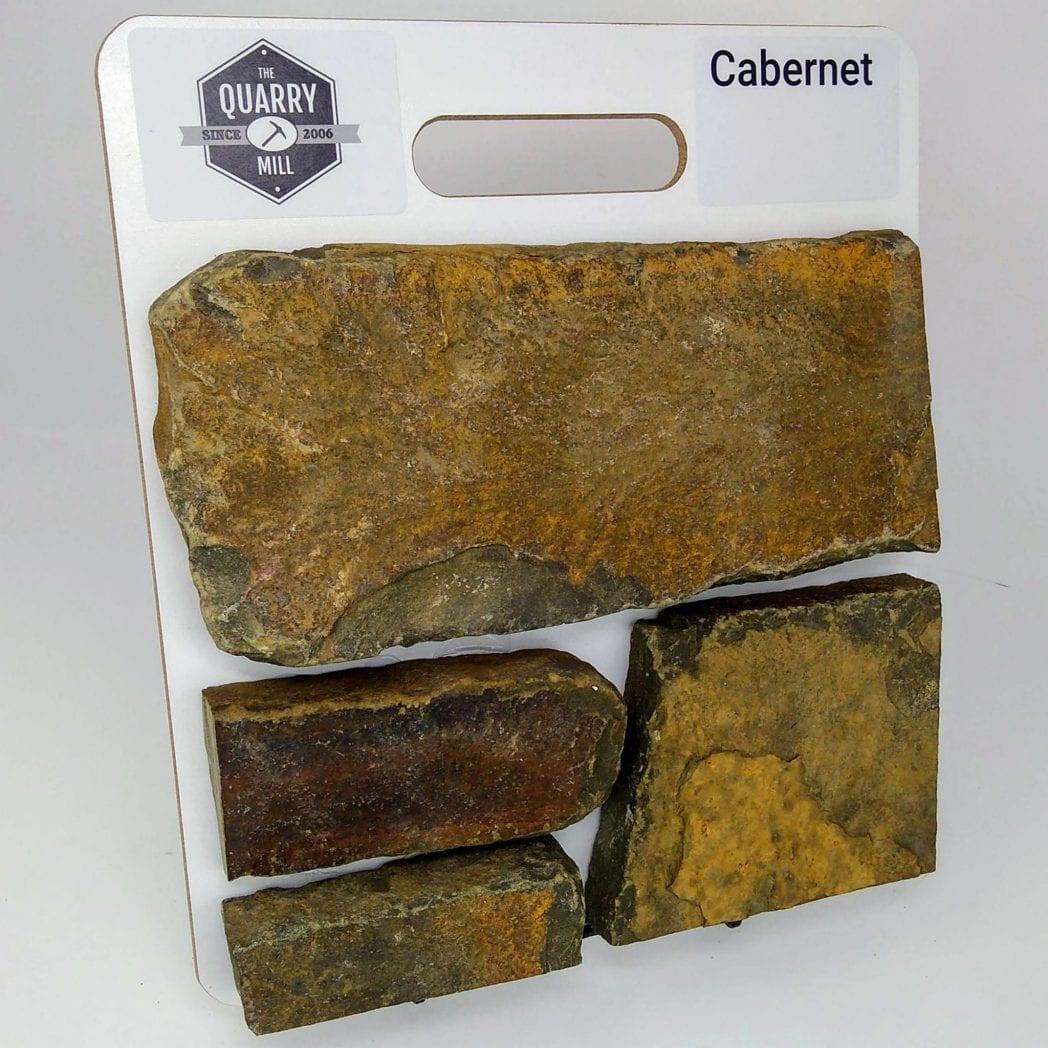 Cabernet Natural Stone Veneer Sample Board