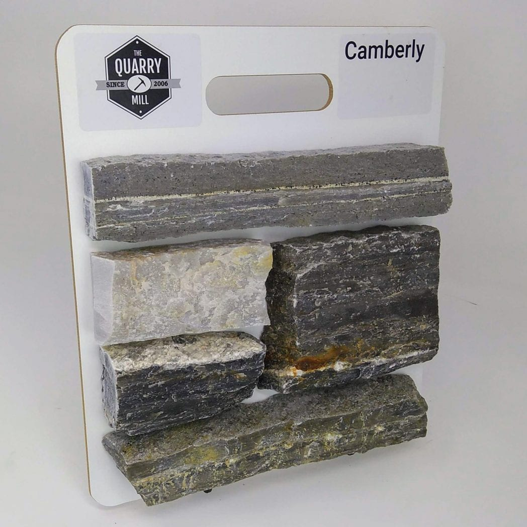 Camberly Natural Stone Veneer Sample Board