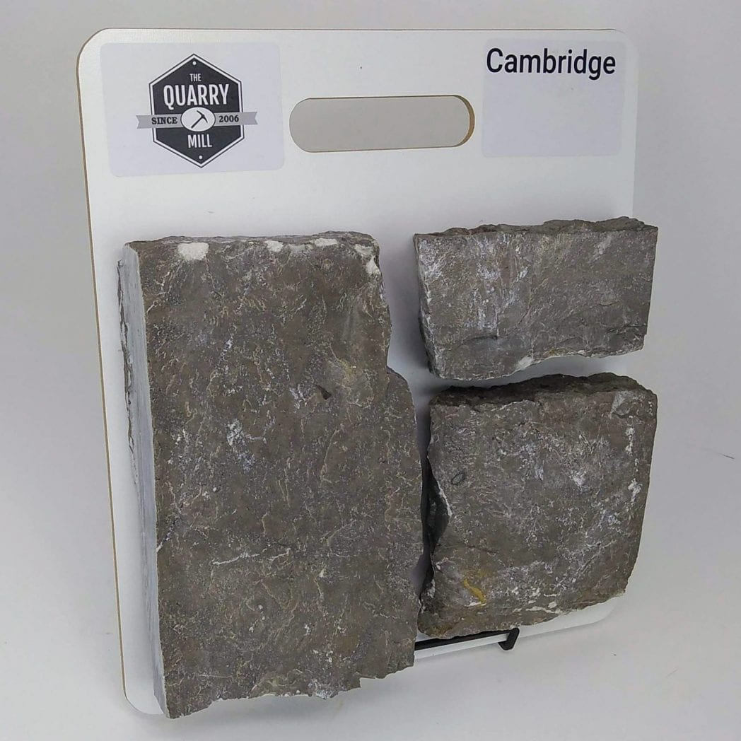 Cambridge Natural Stone Veneer Sample Board