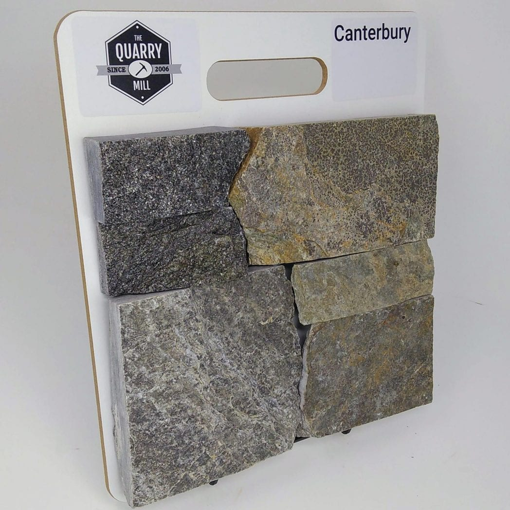 Canterbury Natural Stone Veneer Sample Board