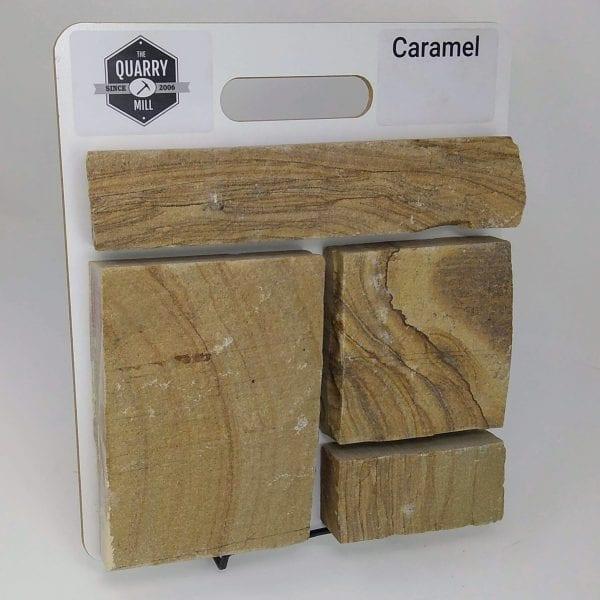 Caramel Natural Stone Veneer Sample Board
