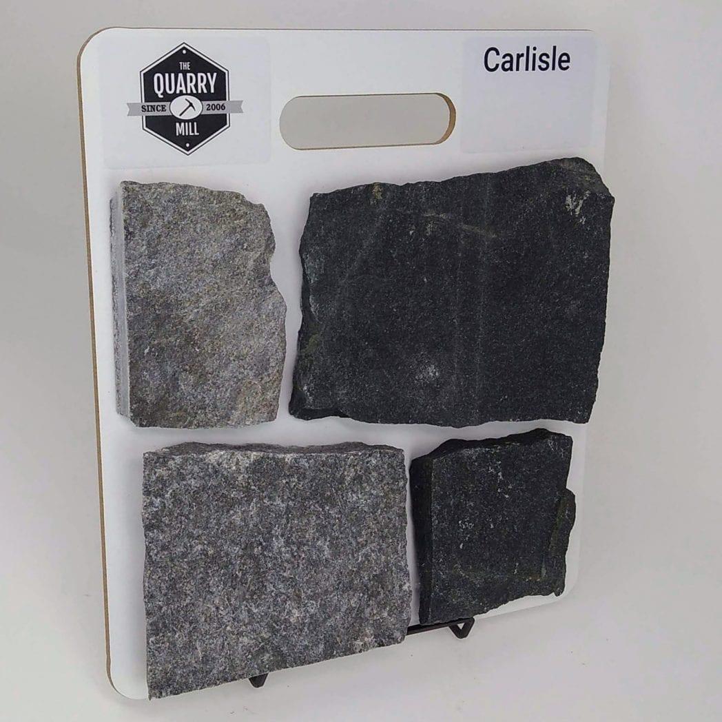 Carlisle Natural Stone Veneer Sample Board