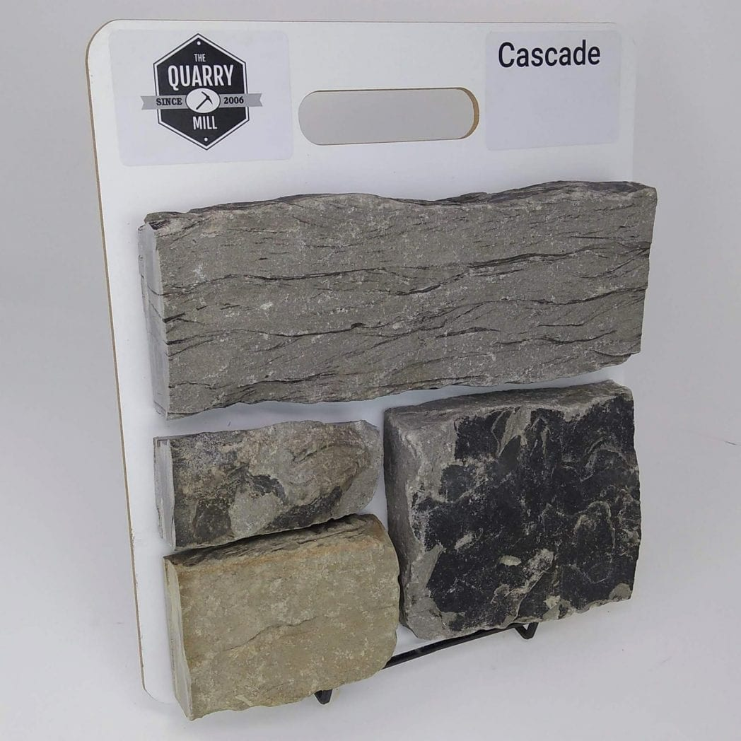 Cascade Natural Stone Veneer Sample Board