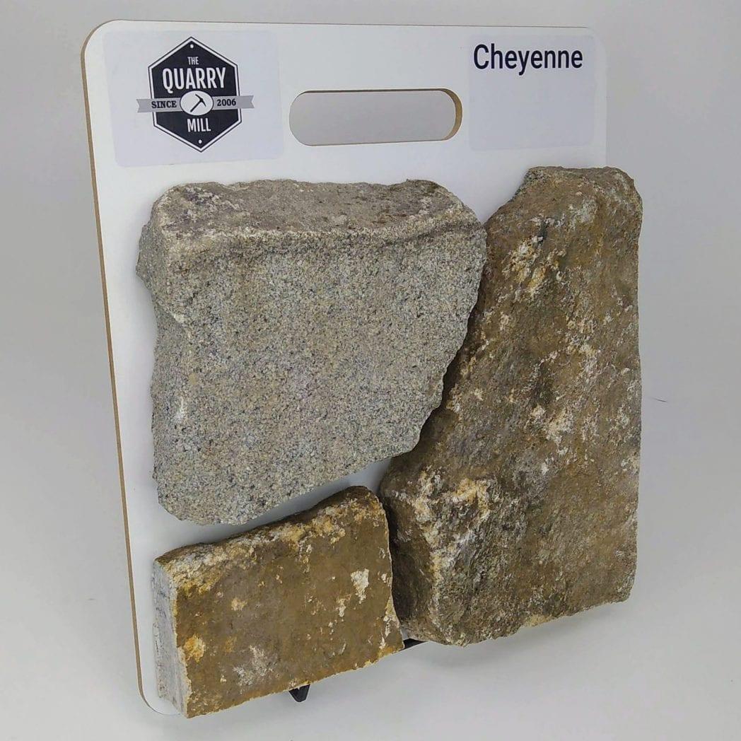 Cheyenne Natural Stone Veneer Sample Board
