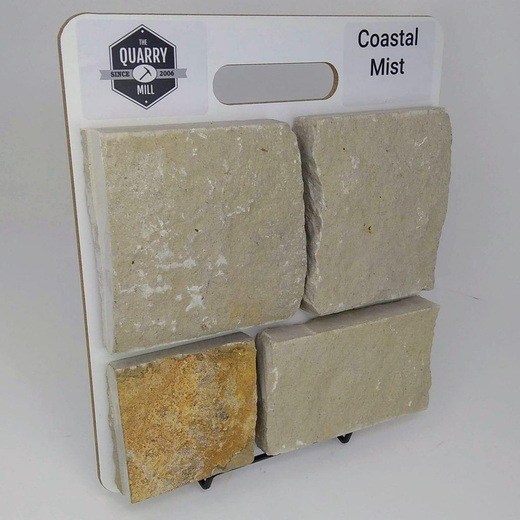 Coastal Mist Natural Stone Veneer Sample Board
