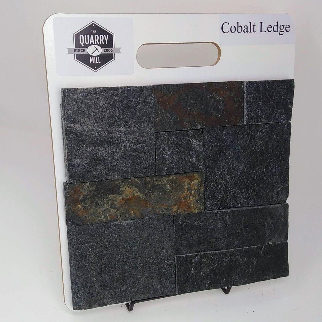 Cobalt Ledge Natural Stone Veneer Sample Board