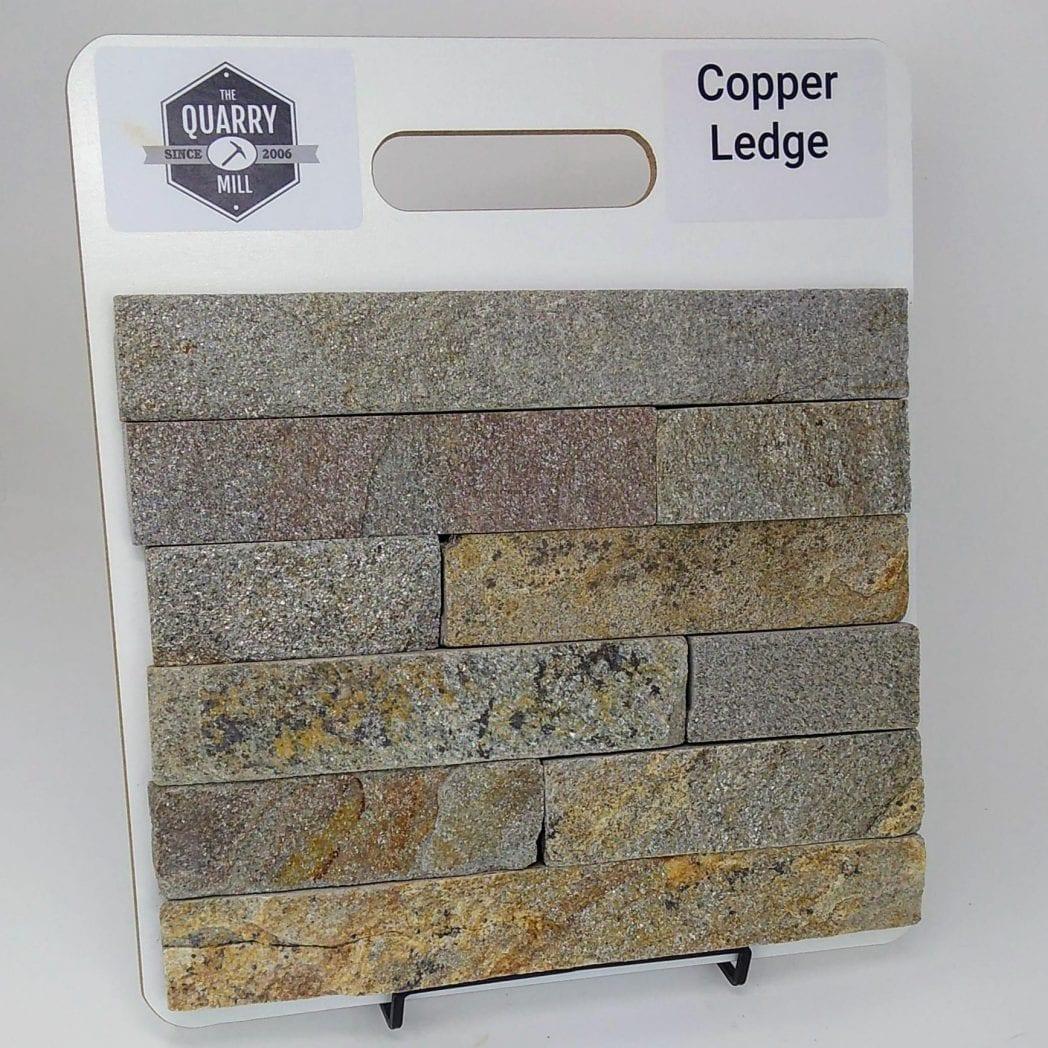 Copper Ledge Natural Stone Veneer Sample Board