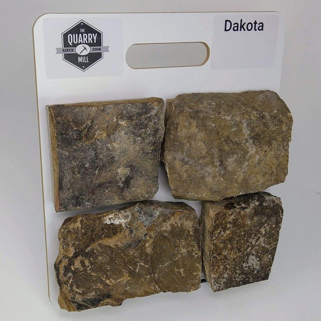 Dakota Natural Stone Veneer Sample Board