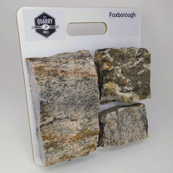 Foxborough Natural Stone Veneer Sample Board