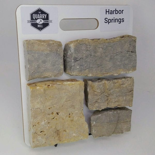 Harbor Springs Natural Stone Veneer Sample Board