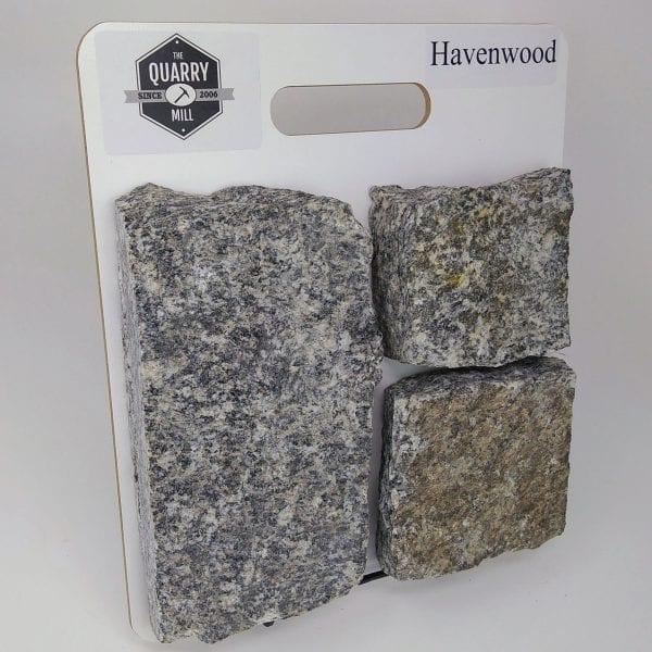Havenwood Natural Stone Veneer Sample Board