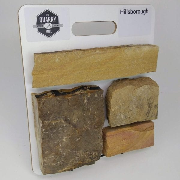 Hillsborough Natural Stone Veneer Sample Board