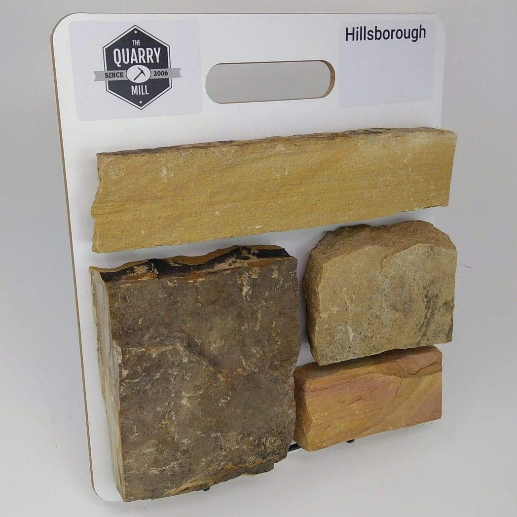 Hillsborough Natural Stone Veneer Sample Board