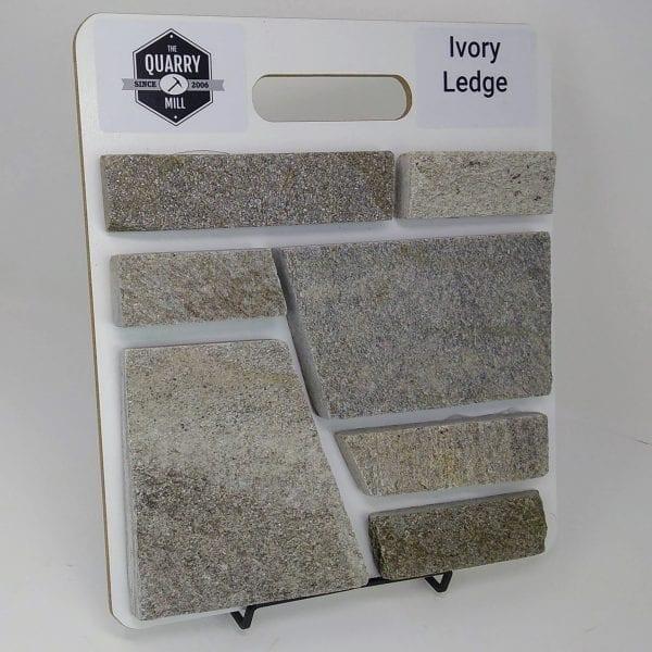 Ivory Ledge Natural Stone Veneer Sample Board