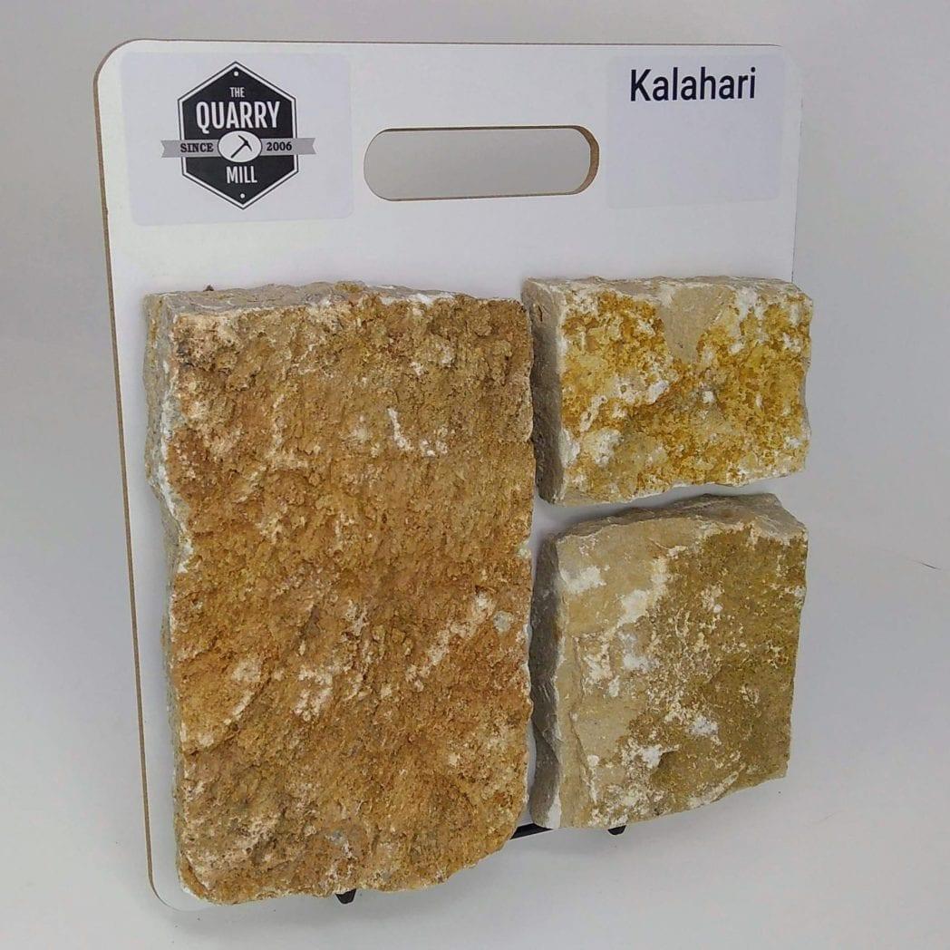 Kalahari Natural Stone Veneer Sample Board