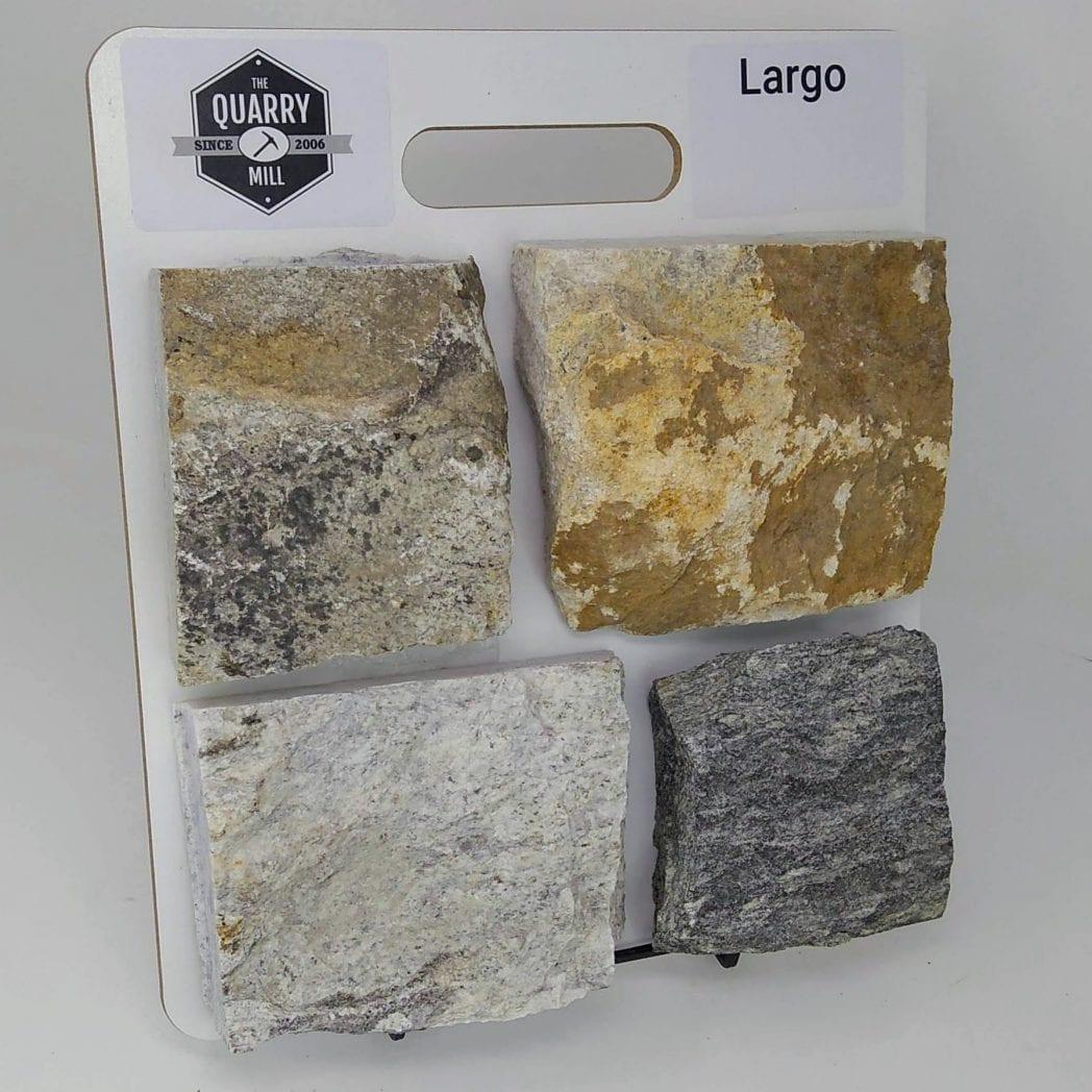 Largo Natural Stone Veneer Sample Board