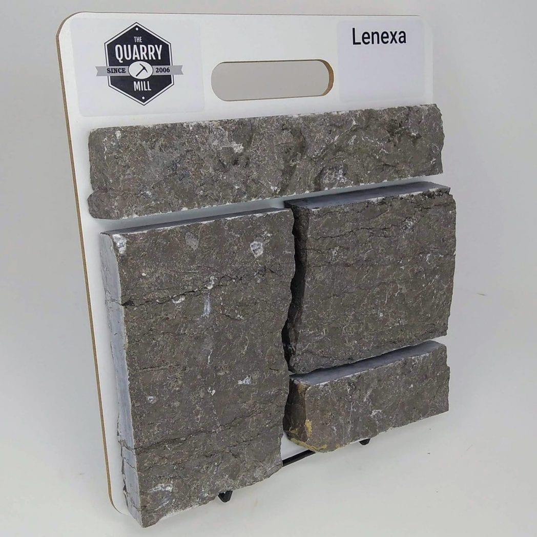 Lenexa Natural Stone Veneer Sample Board