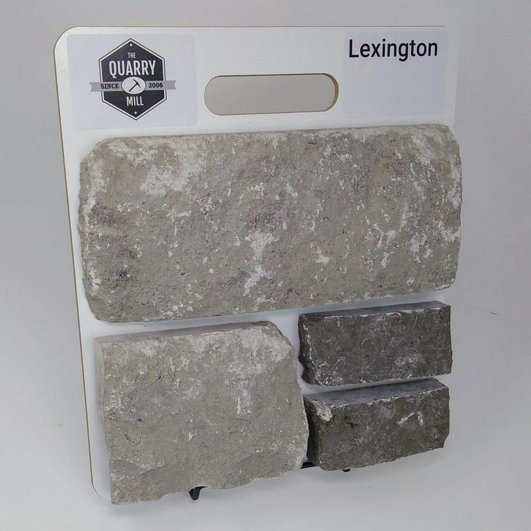 Lexington Natural Stone Veneer Sample Board