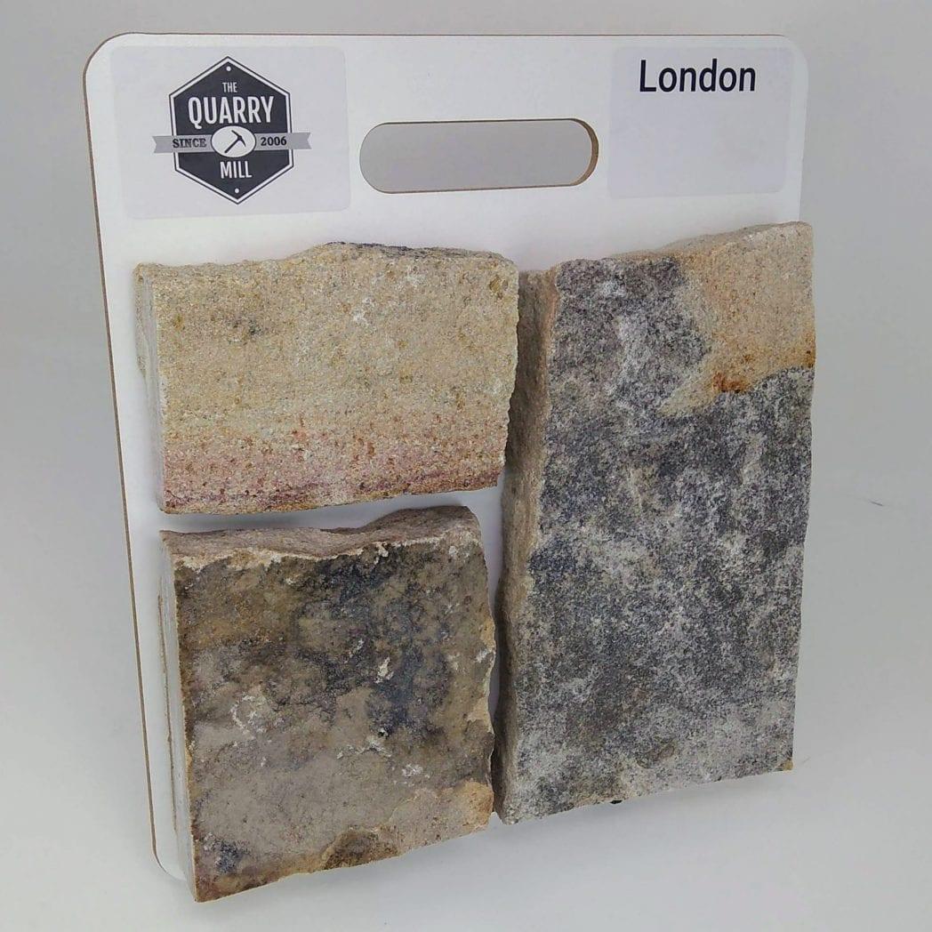 London Natural Stone Veneer Sample Board
