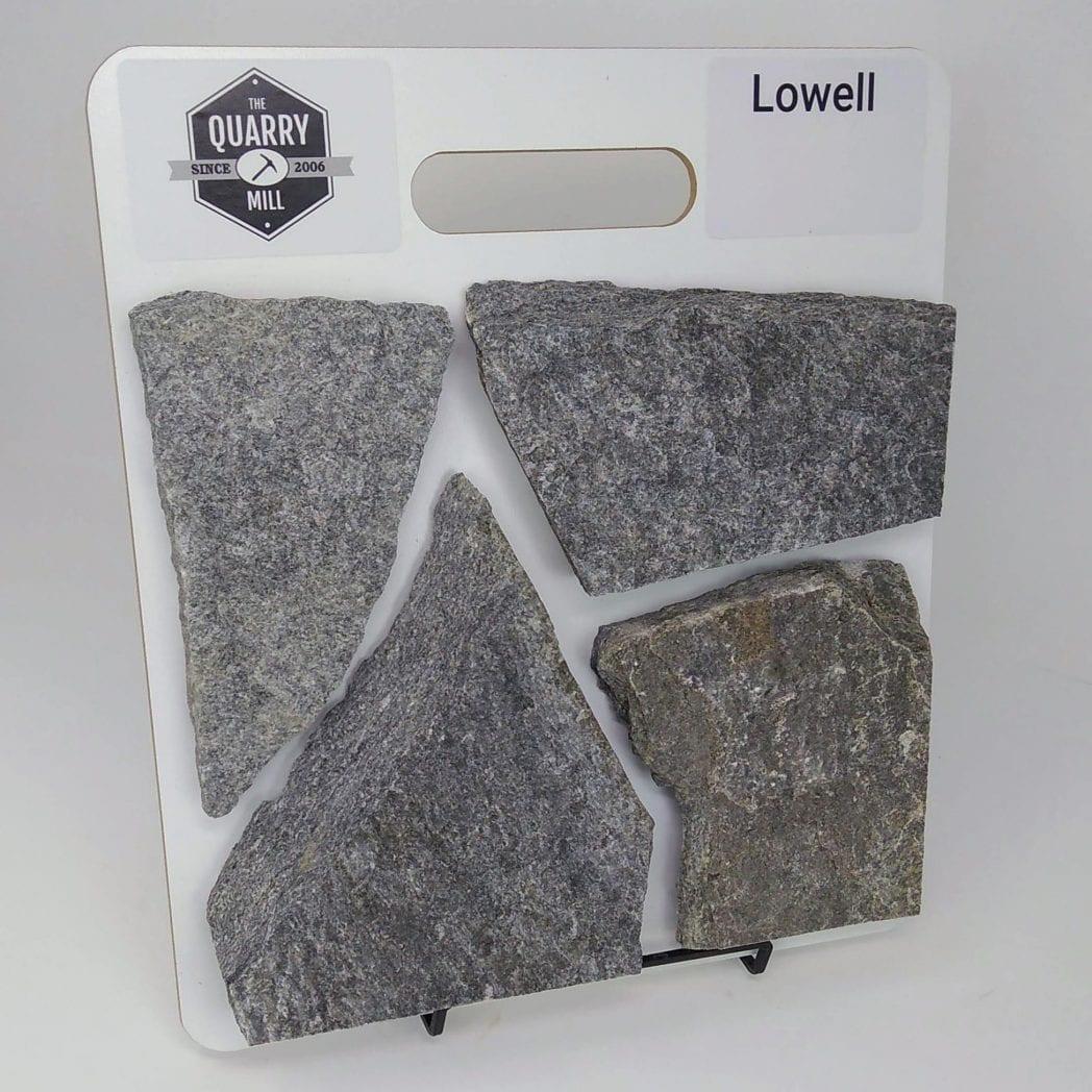 Lowell Natural Stone Veneer Sample Board