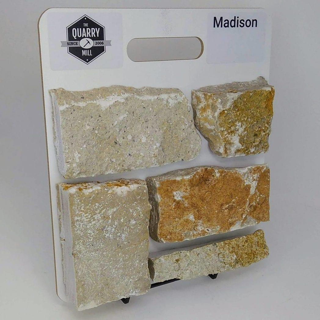 Madison Natural Stone Veneer Sample Board