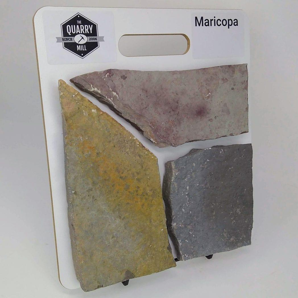 Maricopa Natural Stone Veneer Sample Board