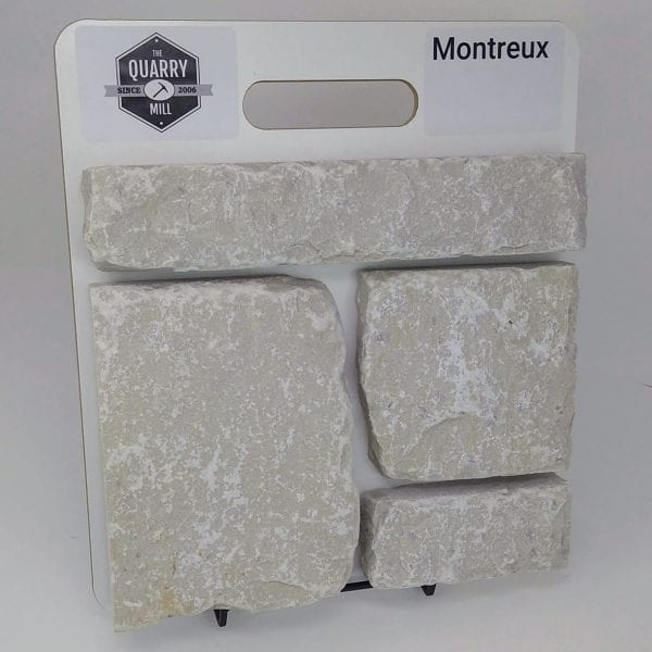 Montreux Natural Stone Veneer Sample Board