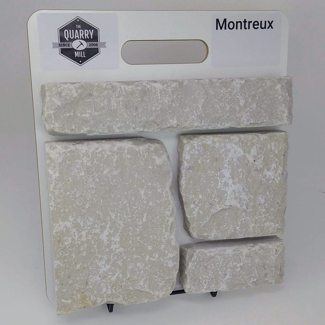 Montreux Natural Stone Veneer Sample Board