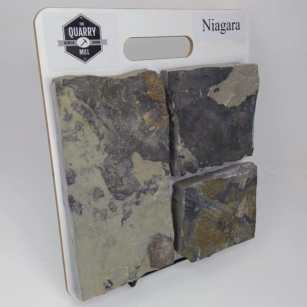 Niagara Natural Stone Veneer Sample Board