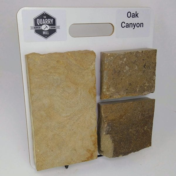 Oak Canyon Natural Stone Veneer Sample Board