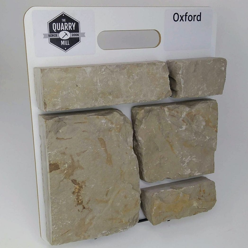 Oxford Natural Stone Veneer Sample Board