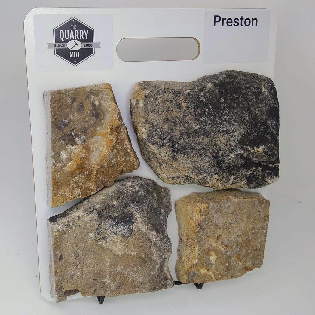 Preston Natural Stone Veneer Sample Board