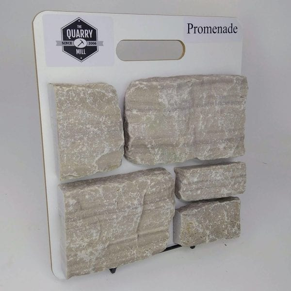 Promenade Natural Stone Veneer Sample Board