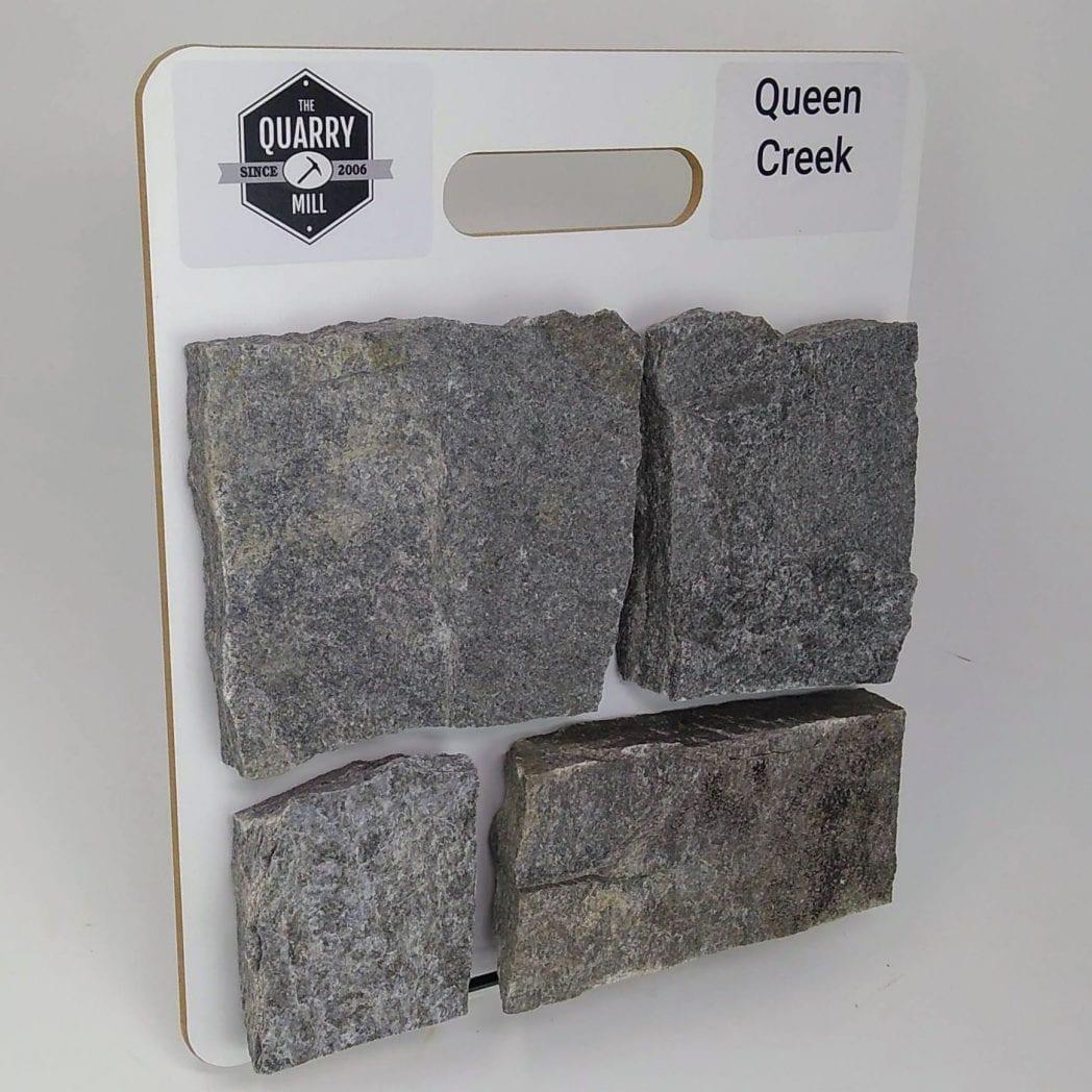 Queen Creek Natural Stone Veneer Sample Board