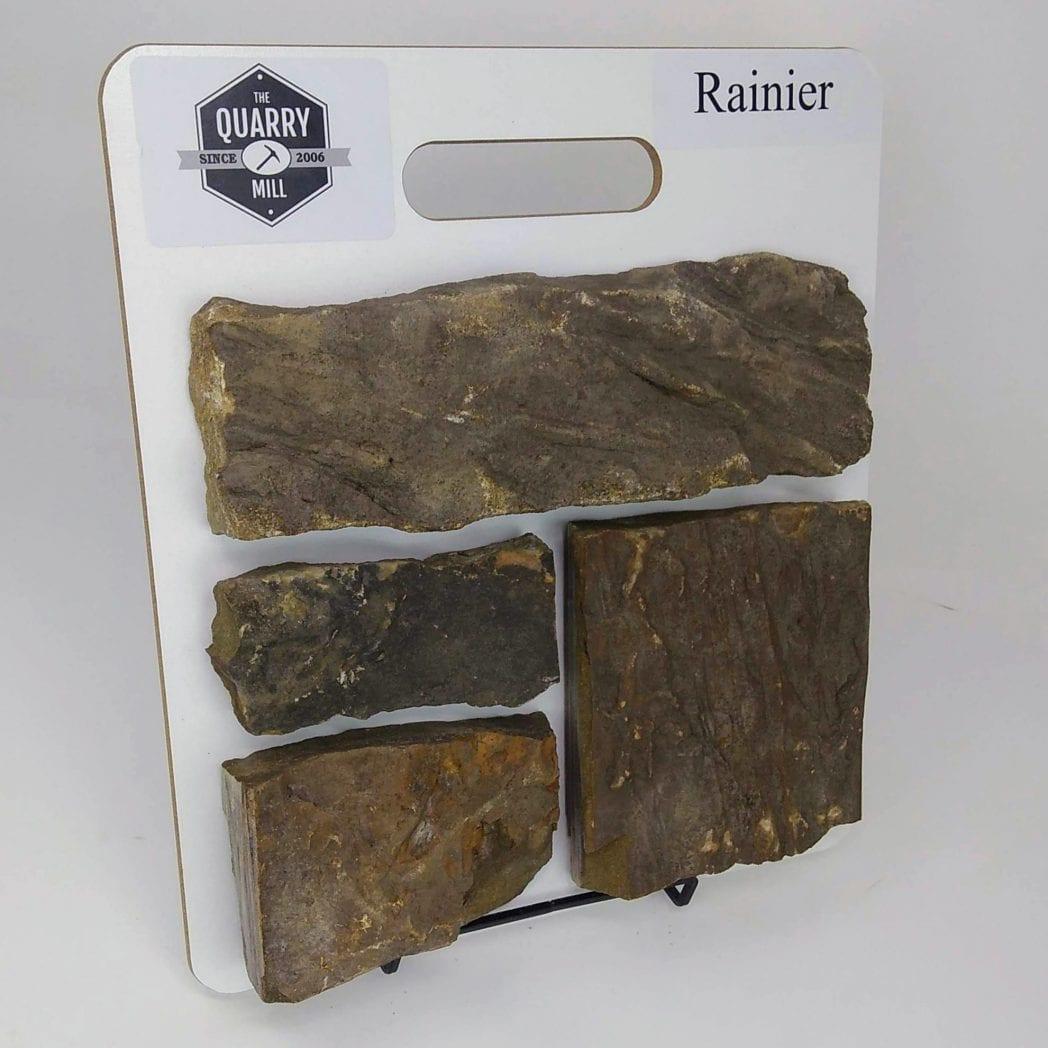 Rainier Natural Stone Veneer Sample Board