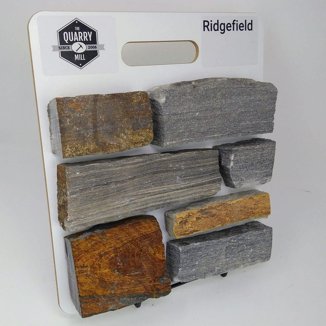 Ridgefield Natural Stone Veneer Sample Board