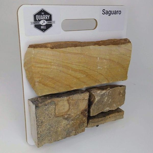 Saguaro Natural Stone Veneer Sample Board