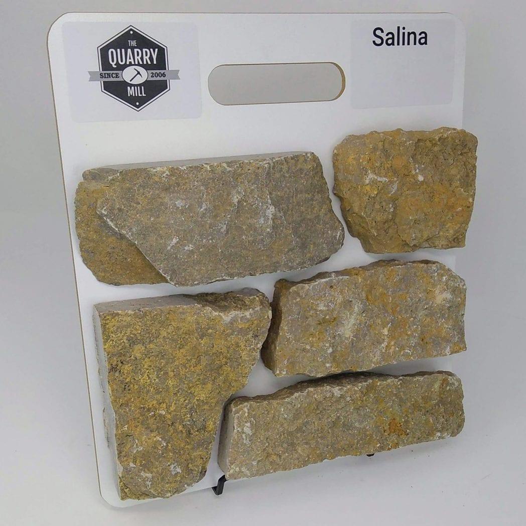 Salina Natural Stone Veneer Sample Board