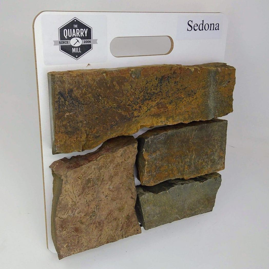 Sedona Natural Stone Veneer Sample Board