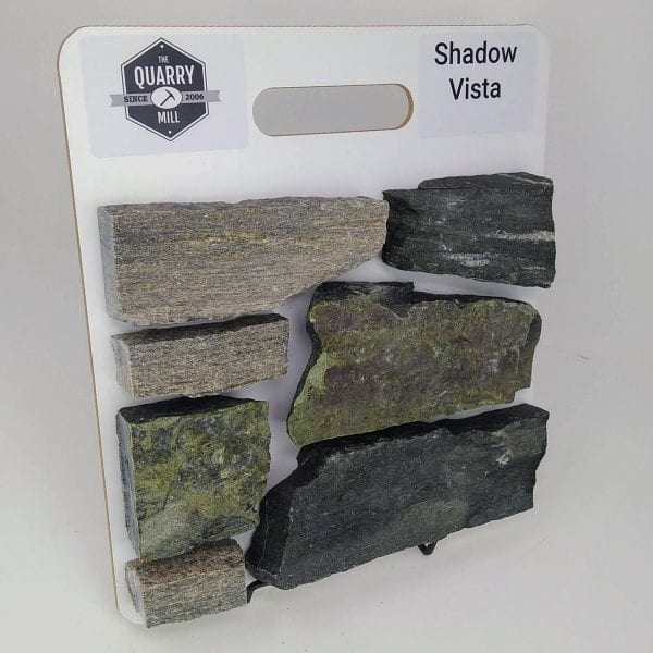 Shadow Vista Natural Stone Veneer Sample Board