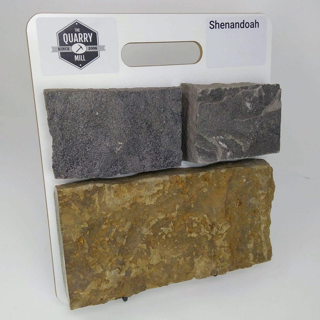Shenandoah Natural Stone Veneer Sample Board