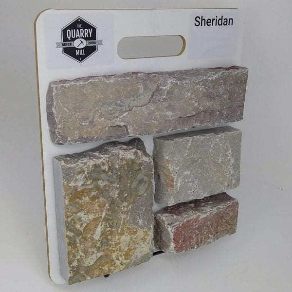Sheridan Natural Stone Veneer Sample Board