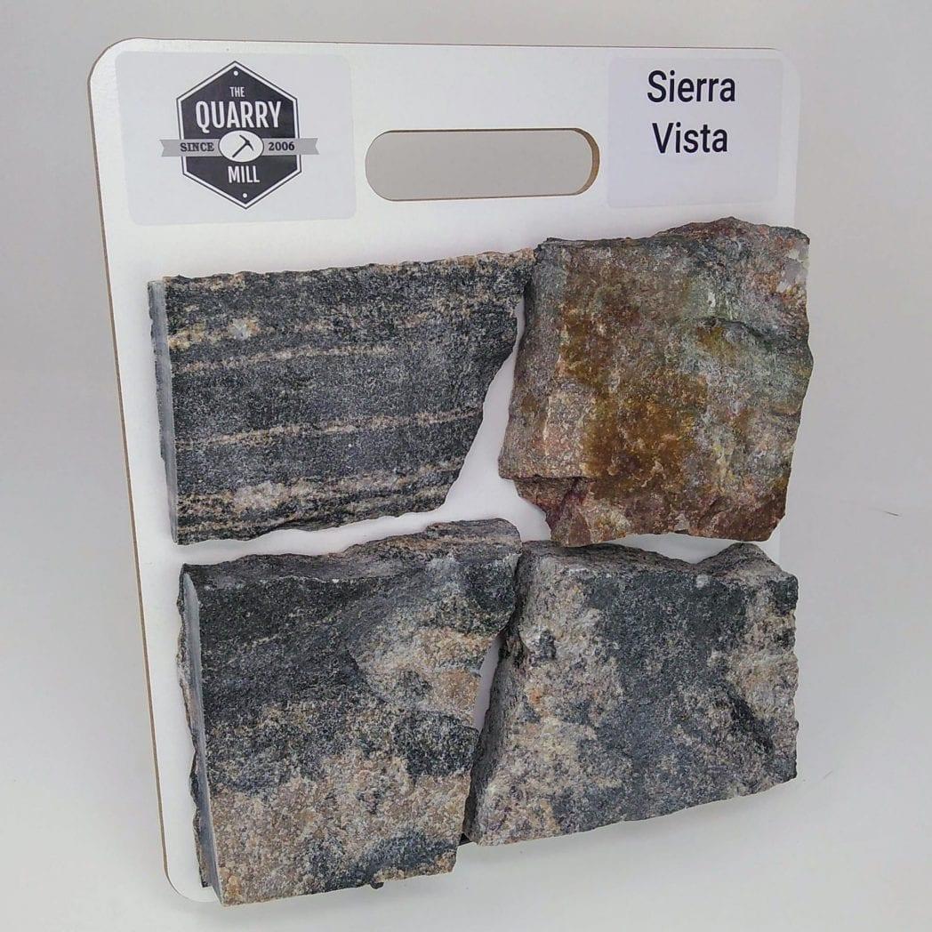 Sierra Vista Natural Stone Veneer Sample Board