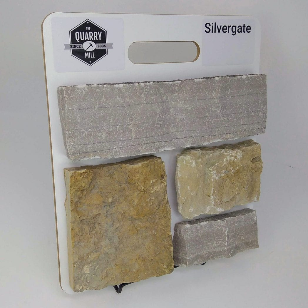 Silvergate Natural Stone Veneer Sample Board