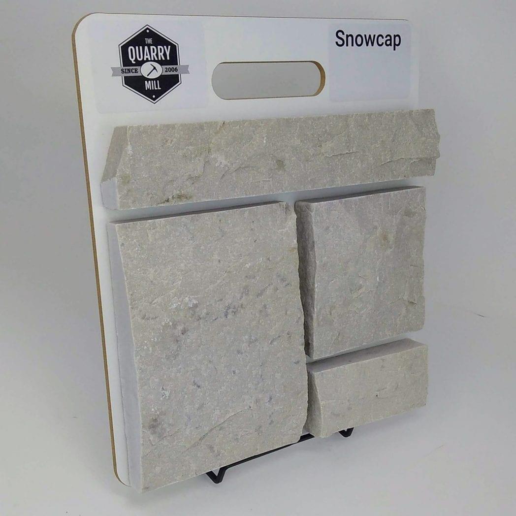 Snowcap Natural Stone Veneer Sample Board
